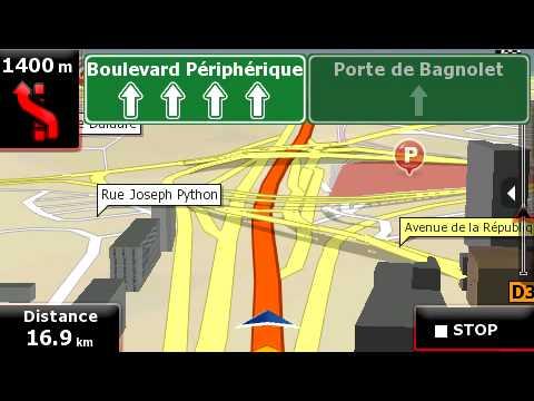 GPS navigators Prestigio based on iGO Amigo
