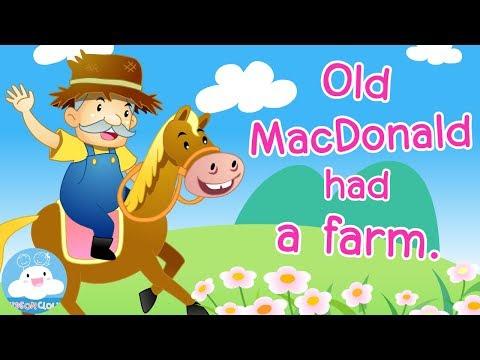 Old MacDonald Had a Farm   Nursery Rhyme   ปู่แมคโดนัลมีฟาร์ม   เพลงเด็กภาษาอังกฤษ by KidsOnCloud