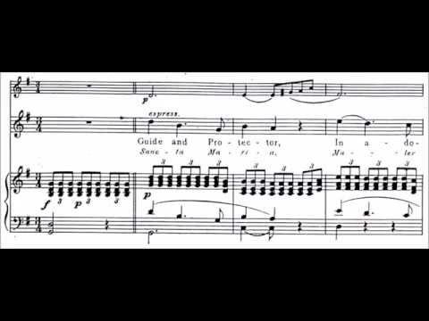 Francisco Santiago - Ave Maria (audio + Sheet Music)