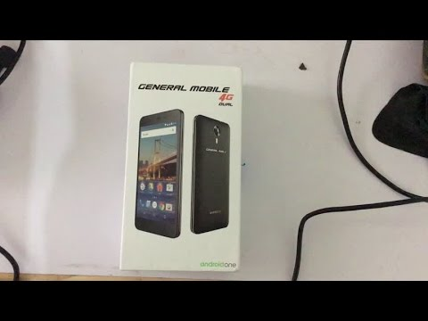 General Mobile 4G (Android One) Unboxing + First impression [International Version] 4K HD