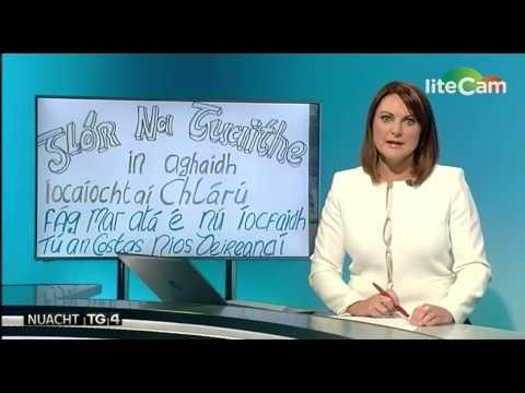 Nuacht TG4: Agóid Shinn Féin in aghaidh Táillí Bruscair i nGaillimh