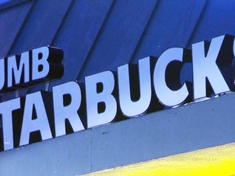 "Headlines at 8:30: ""Dumb Starbucks"" parodies a Starbucks coffee shop"