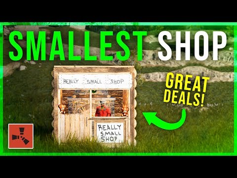 Running the SMALLEST SHOP in a BIG VILLAGE - Rust Shop Series