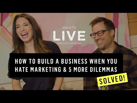How to Fall in Love With Marketing, Succeed in a Male-Dominated Field & More