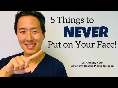 What to NEVER Put On Your Face - Dr. Anthony Youn