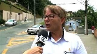 Márcia Pontes  - Entrevista  - NSC rede estadual Semana do Trânsito