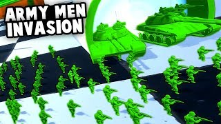 Army Men INVASION!  Next HOME WARS + TABS!? (Attack On Toys Gameplay)