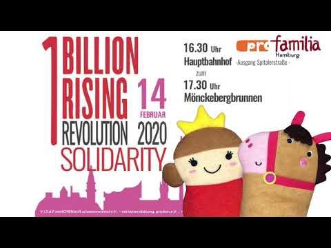 ONE BILLION RISING 2020: Quickie Am Freitag By Pro Familia Hamburg