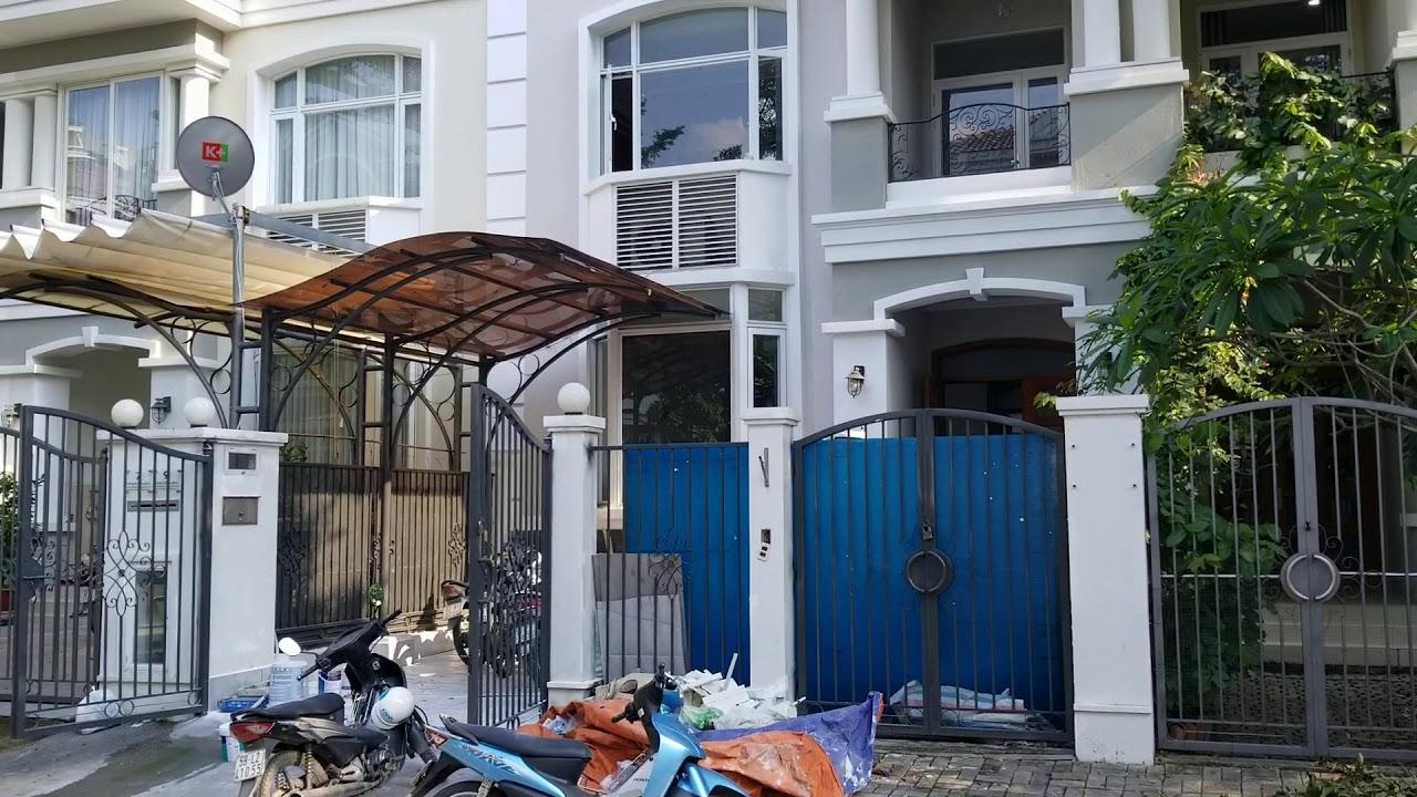 Bán biệt thự liền kề Phú Mỹ Hưng, khu phố Mỹ Văn 2, nhà hoàn thiện nội thất cơ bản. B1 – 09