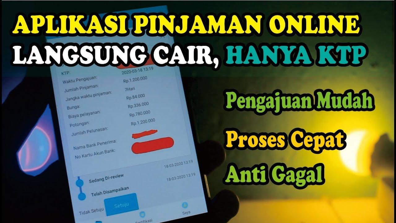 Aplikasi Pinjaman Online Langsung Cair Hanya Pakai Ktp Saja