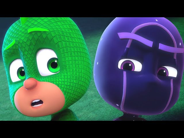PJ Masks Episodes | Gekko VS Super Ninjalinos | 45 Minute Compilation - Cartoons for Kids #117