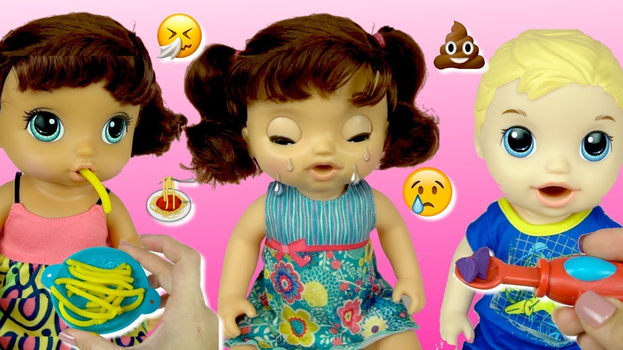 Baby Alive Doll That Really Cries And Eats Spaghetti