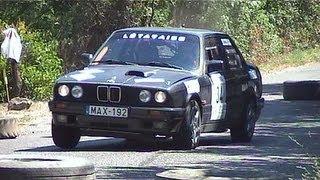 Szombati István - Szabó Gyula - BMW 320 - IV. Tatabánya Rallye 2013