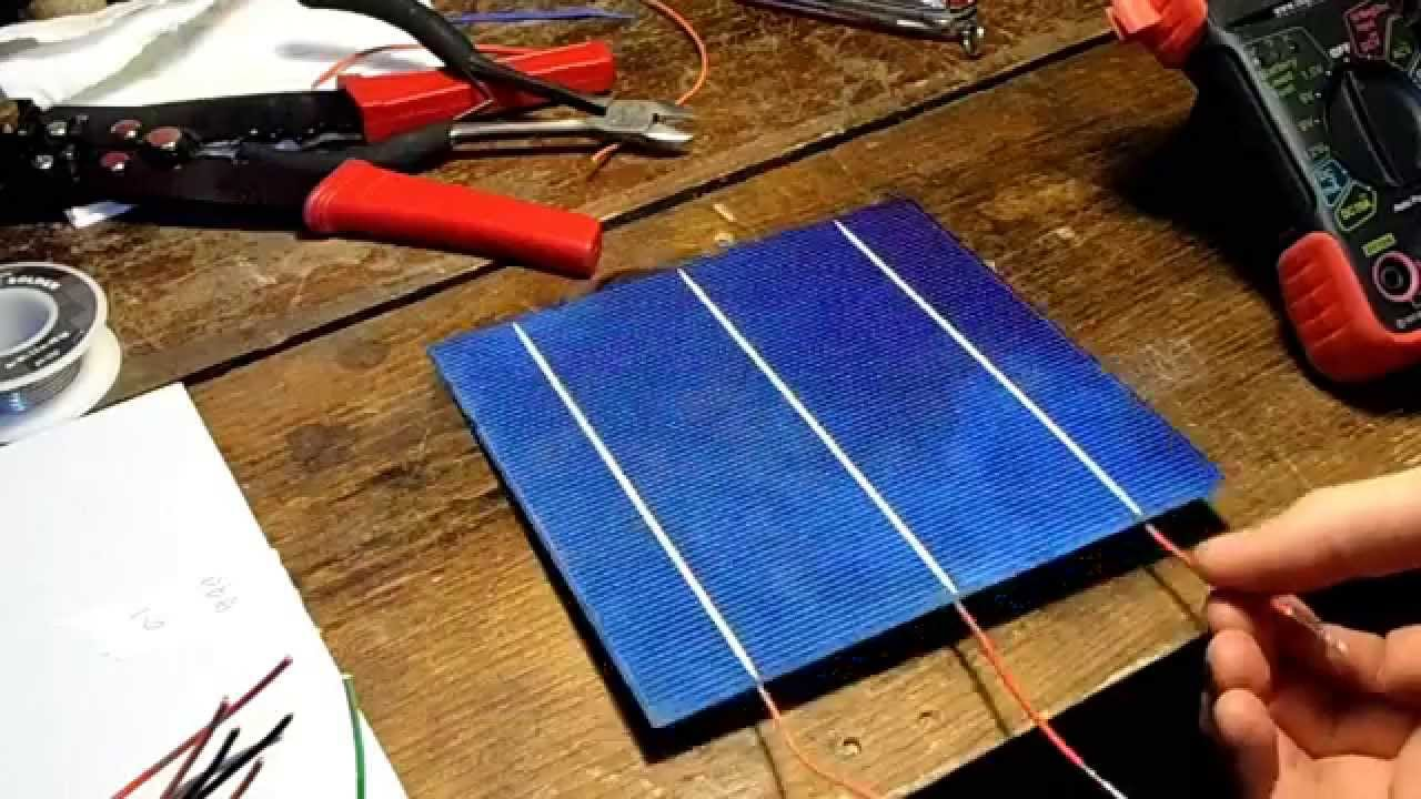 Diy 15 40w solar panel youtube solutioingenieria