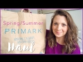 Primark Haul and Try on!  Spring Summer 2017