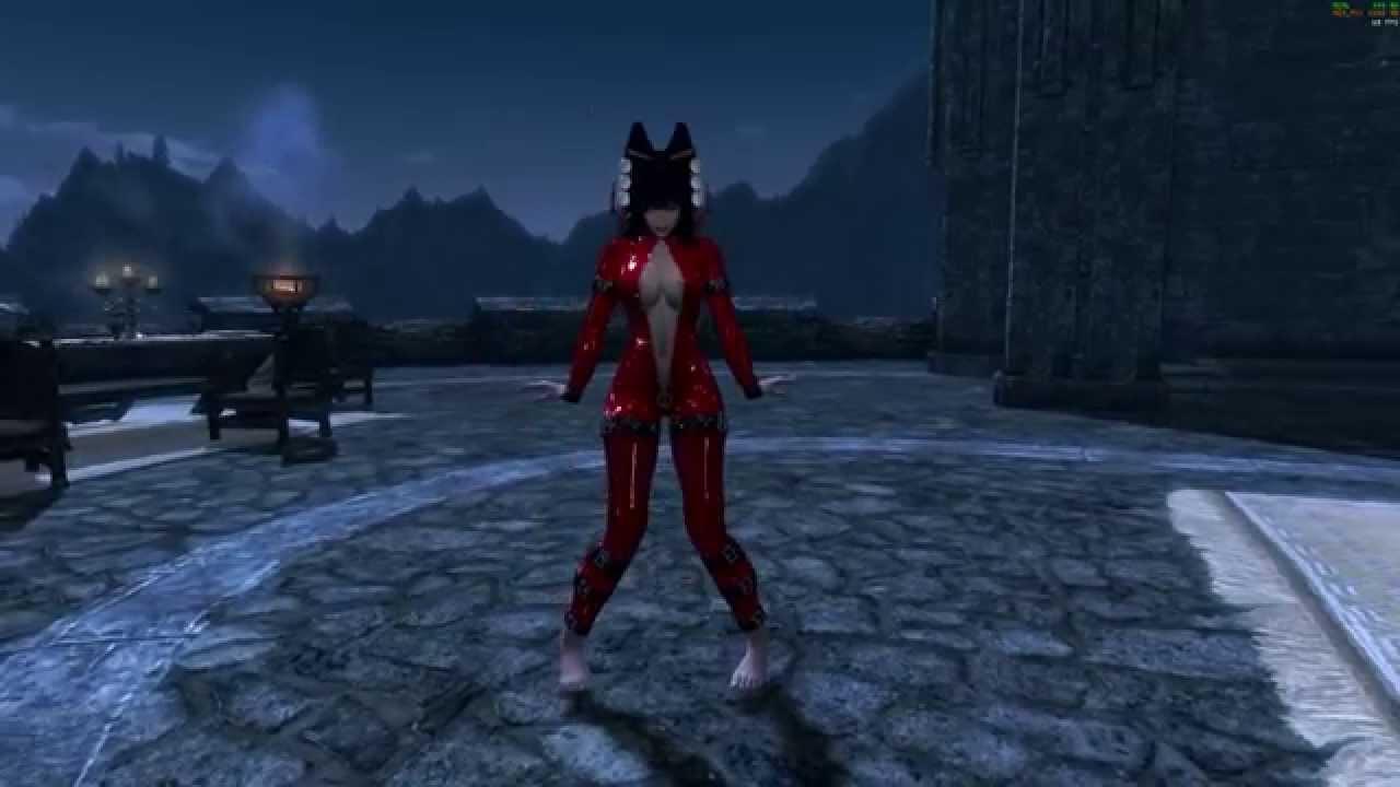 Skyrim sexy dance cyber thunder cider hdt futanari