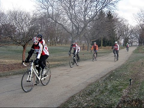 15 Mile Bicycle Ride  - Greenfield Park to New Berlin Trail to Waukesha, Wisconsin