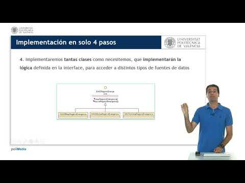 Implementación del patron DAO (Data Access Objecto) | UPV
