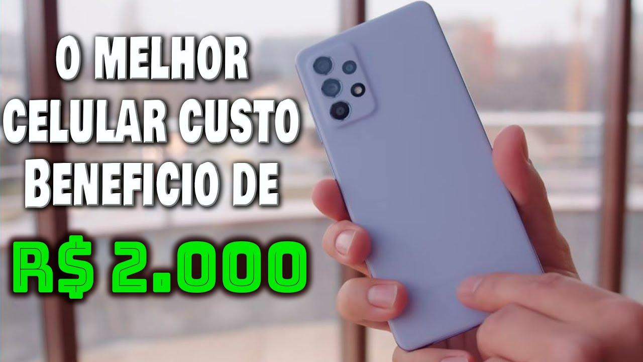 MELHOR CELULAR BOM E BARATO DE R$ 2.000 JUNHO 2021