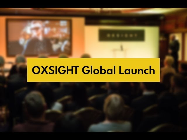 OXSIGHT Global Launch Highlights