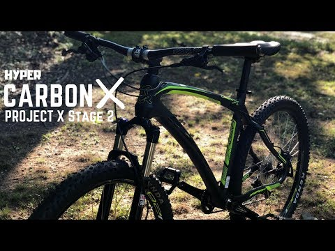 Upgraded Hyper Carbon X Mountain Bike from Walmart - Project X Stage 2