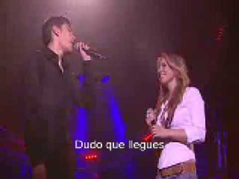 What you're made of (español) - Lucie Silvas & Gregory Lemarchal