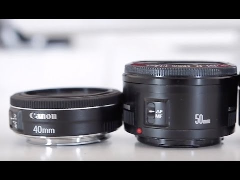 Canon 50mm STM vs Canon 40mm STM