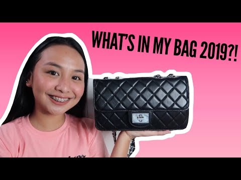 WHAT'S IN MY BAG 2019?! | Claire Fabian