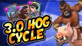 INSANE 3.0 HOG CYCLE DECK | PRINCESS, MINI PEKKA LADDER DECK | Clash Royale