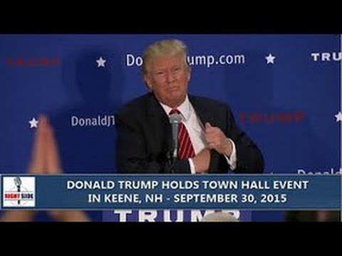 Donald Trump Gives Fiery Speech In Keene, New Hampshire (9/30/2015)