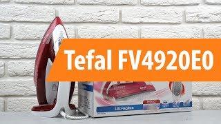 Розпакування Tefal FV4920E0 / Unboxing Tefal FV4920E0