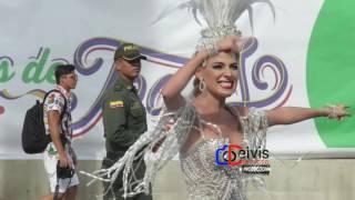 la reina del carnaval 2017 stephanie mendoza bailando champeta