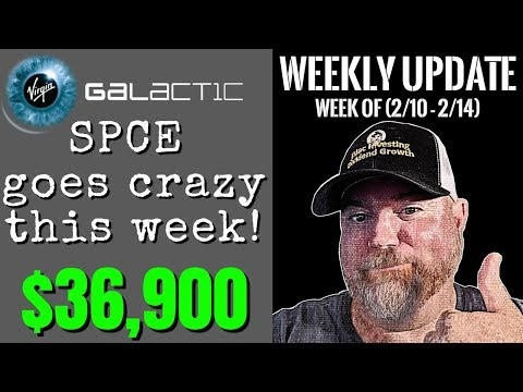 Weekly Portfolio Update For The Week (10/10 Through 10/14) | Virgin Galactic SPCE Goes Parabolic