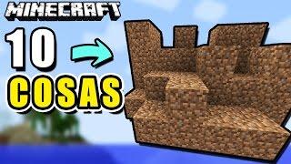 Minecraft - 10 Cosas que No Sabías de la TIERRA - Rabahrex