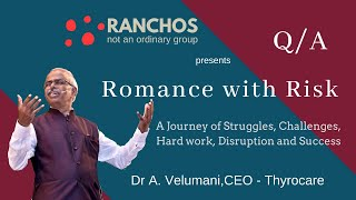 """Romance with Risk"" by Dr A. Velumani in Surat (Q/A Part - 2)"