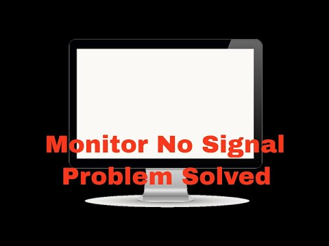 Monitor no signal from CPU and power button keep Flashing no display Solved