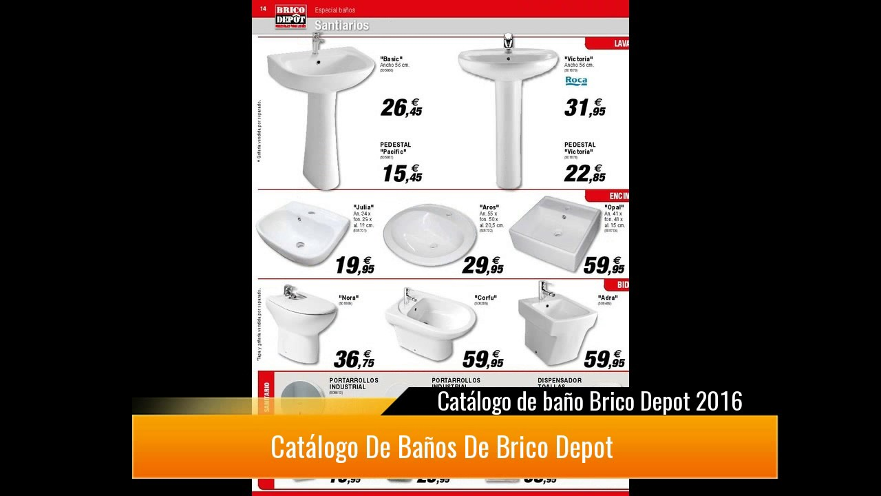 Catalogo De Bano Brico Depot Youtube