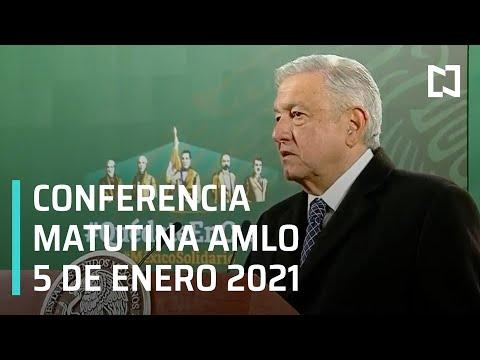 Conferencia matutina AMLO / 5 de enero 2021