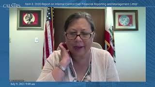 CalSTRS Teachers' Retirement Board Meeting | July 9, 2021