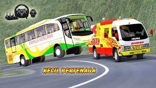 Truk kecil DEREK bus Besar Pahala Kencana || Euro Truck SImulator 2