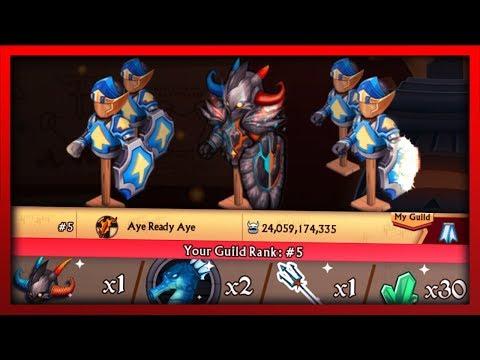 Knights and Dragons - ELEMENTOSA T5 RAID!! Power Leveling Elemental Spawn+ W/F Shadowforged Plus! - 동영상