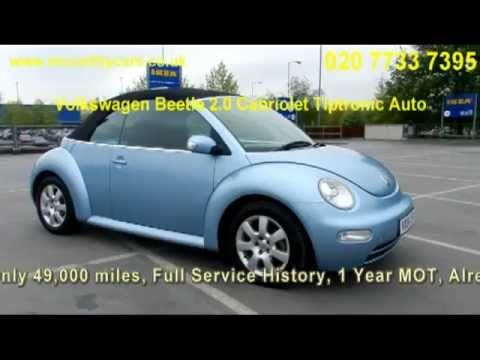 Volkswagen Beetle 2.0 Cabriolet Tiptronic Auto VX04 McCarthy Cars