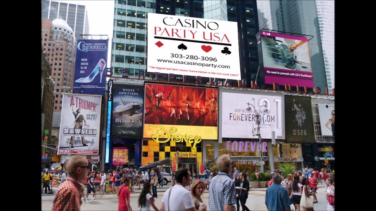 Casino Party USA - Denver - Billboards
