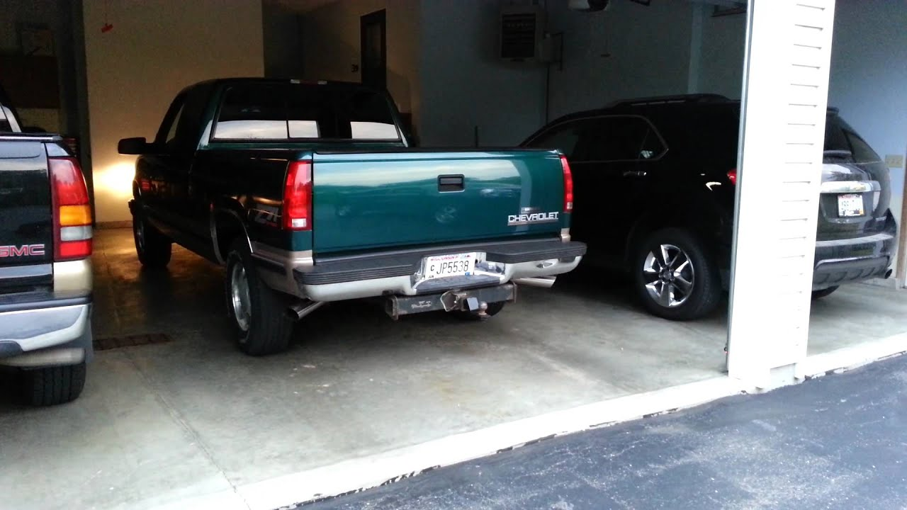 Flowmaster super 40 DI/DO muffler exhaust on 1998 chevy ...