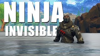 NINJA INVISIBLE | Fortnite Ninja Troll & Funny Moments