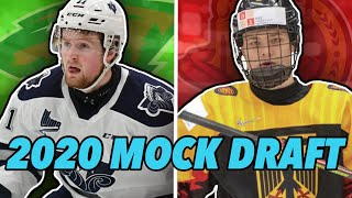 Post Lottery 2020 NHL Mock Draft!