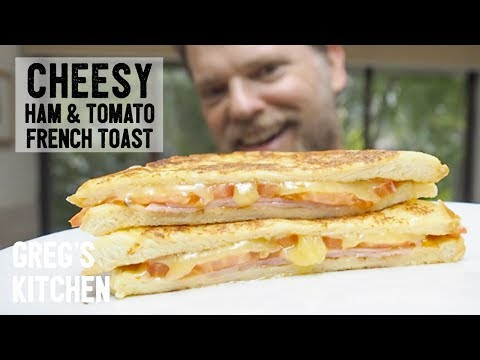 FRENCH TOAST TOASTED BREAKFAST SANDWICH - Greg's Kitchen