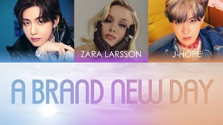 BTS (방탄소년단) - A Brand New Day (ft. Zara Larsson) Color Coded…