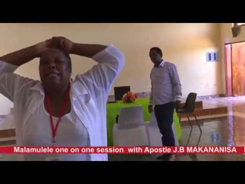 MALAMULELE ONE ON ONE FIRST DAY UPDATE //APOSTLE J.B MAKANANISA