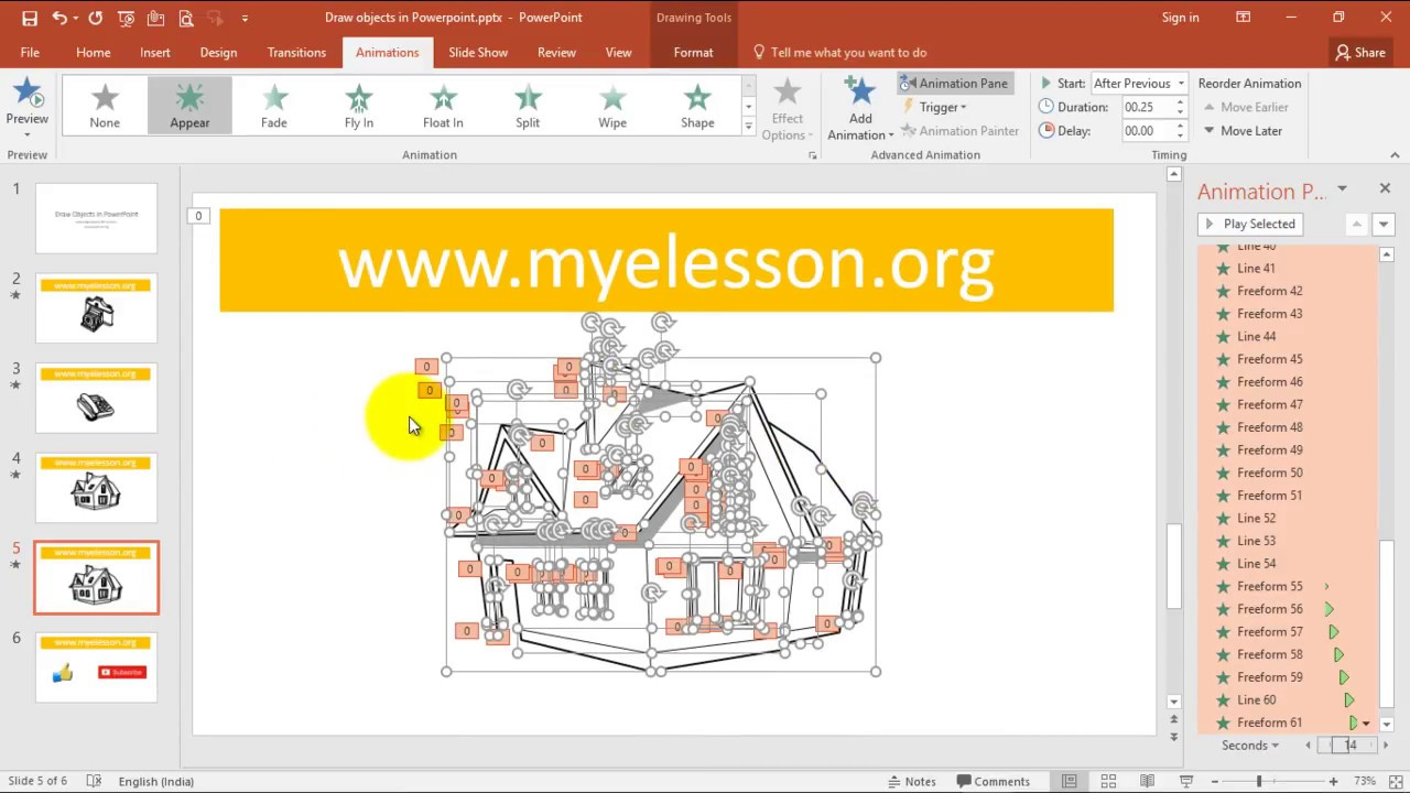 Animate Objects in Powerpoint - YouTube